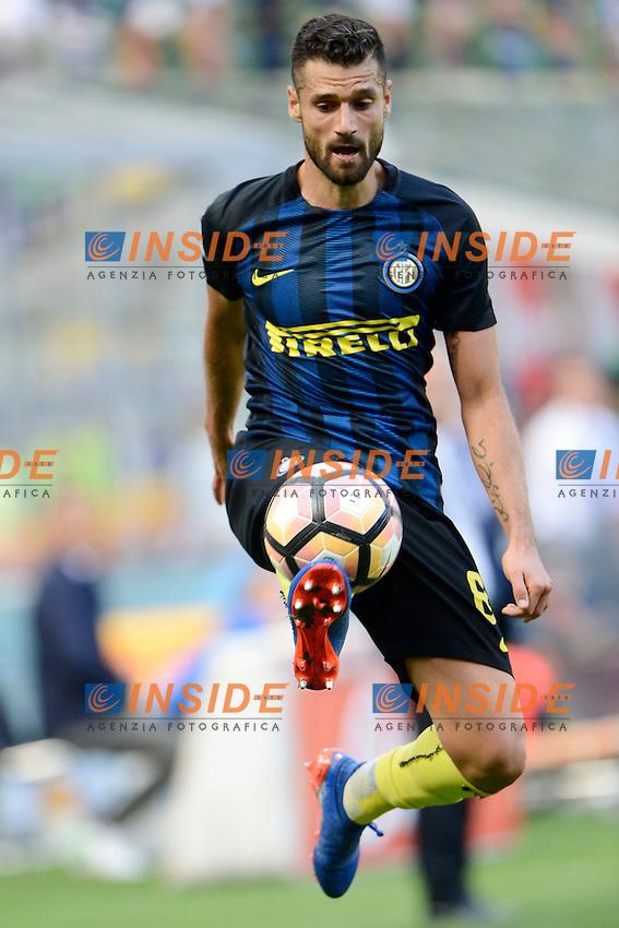 Antonio Candreva Inter<br /> Milano 25-09-2016 Stadio Giuseppe Meazza - Football Calcio Serie A Inter - Bologna. Foto Giuseppe Celeste / Insidefoto