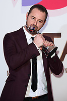 LONDON, UK. January 22, 2019: Danny Dyer at the National TV Awards 2019 at the O2 Arena, London.<br /> Picture: Steve Vas/Featureflash