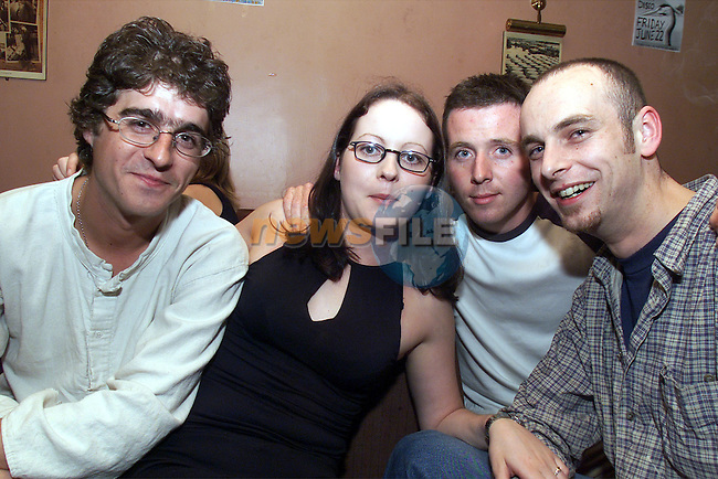Bill Lennon, Deborah Devenney, Cian Ray and Emmet Smih pictured playing at McHughs..Picture: Arthur Carron/Newsfile