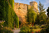SERBIA, Belgrade, Belgrade Fortress walls and gardens, Eastern Europe