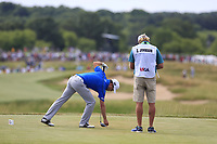 Zach Johnson (USA) on the 7th tee during Friday's Round 2 of the 117th U.S. Open Championship 2017 held at Erin Hills, Erin, Wisconsin, USA. 16th June 2017.<br /> Picture: Eoin Clarke | Golffile<br /> <br /> <br /> All photos usage must carry mandatory copyright credit (&copy; Golffile | Eoin Clarke)