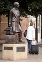"23/10/19<br /> <br /> File photo dated 12/07/11 showing Thomas Cook statue outside Leicester railway station.<br /> <br /> Thomas Cook has collapsed after last-minute negotiations aimed at saving the 178-year-old holiday firm failed.<br /> <br /> The UK Civil Aviation Authority (CAA) said the tour operator had ""ceased trading with immediate effect"".<br /> <br /> It has also triggered the biggest ever peacetime repatriation, aimed at bringing more than 150,000 British holidaymakers home.<br /> <br /> <br /> <br /> All Rights Reserved, F Stop Press Ltd +44 (0)7765 242650 www.fstoppress.com rod@fstoppress.com"
