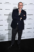 LONDON, UK. October 16, 2019: Gavin Murphy arriving for the Esquire Townhouse 2019 launch party, London.<br /> Picture: Steve Vas/Featureflash