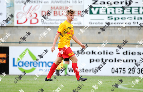 2015-08-08 / Voetbal / Seizoen 2015-2016 / KFC Oosterzonen / Stig Engelen<br /><br />Foto: Mpics.be