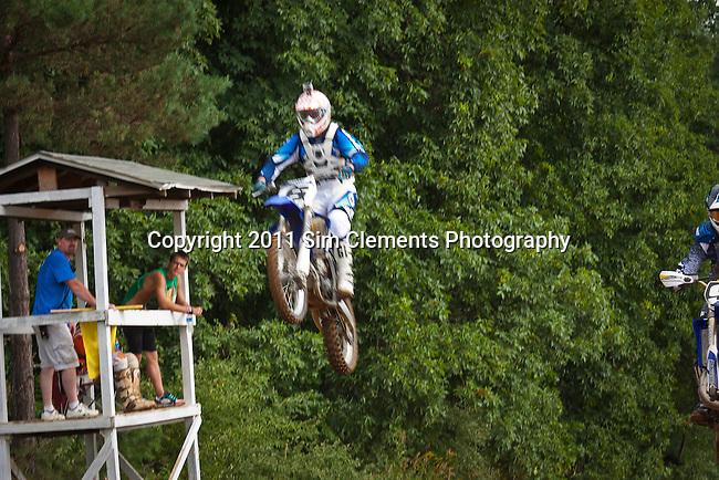 MX action at Battle Creek Motorcycle Club, Battle Creek, Michigan