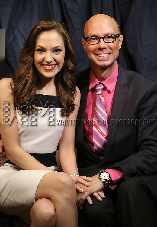 Laura Osnes & Richard Ridge  'In The Spotlight' at the 2013 Tony Awards Meet The Nominees Junket  at the Millennium Broadway Hotel in New York on 5/1/2013...