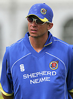 Andre Nel of Essex warms up during Essex Eagles vs Kent Spitfires, Friends Provident Trophy at Ford County Ground, Chelmsford, Essex. Nel has been appointed as Assistant Head Coach of Essex CCC on 11th March 2019.