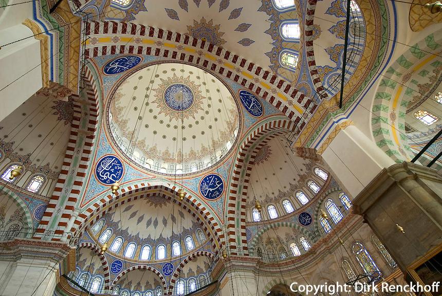 Fatih Camii (Moschee) in Istanbul, erbaut 15. Jh, Türkei