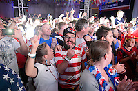 Salvador Brazil - June 21, 2014: USA Fanfest in Manaus for the 2014 World Cup.
