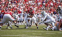 Hawgs Illustrated/BEN GOFF <br /> Arkansas takes on TCU Saturday, Sept. 9, 2017, during the game at Razorback Stadium in Fayetteville.