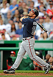 12 April 2008: Atlanta Braves' outfielder Mark Kotsay in action against the Washington Nationals at Nationals Park, in Washington, DC. The Braves defeated the Nationals 10-2...Mandatory Photo Credit: Ed Wolfstein Photo