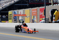 Sept. 19, 2010; Concord, NC, USA; View of the sound wall barrier alongside the track during the O'Reilly Auto Parts NHRA Nationals at zMax Dragway. Mandatory Credit: Mark J. Rebilas-