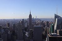 NOV YORK, EUA, 19.11.2019 - TURISMO-EUA - Vista do Empire State Building na ilha de Manhattan em Nova York nos Estados Unidos. (foto: Vanessa Carvalho/Brazil Photo Press/Folhapress)