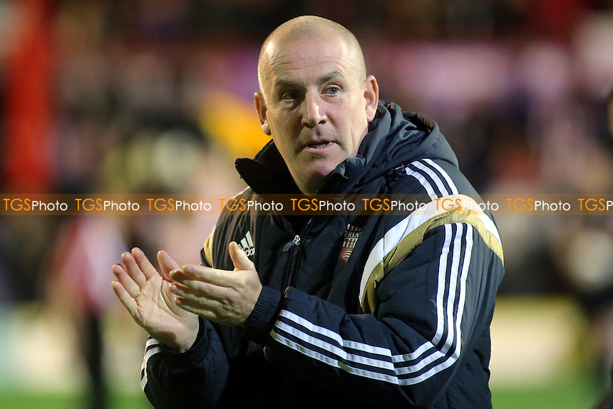 Brentford Manager, Mark Warburton - Brentford vs Sheffield Wednesday - Sky Bet Championship Football at Griffin Park, London - 21/10/14 - MANDATORY CREDIT: Paul Dennis/TGSPHOTO - Self billing applies where appropriate - contact@tgsphoto.co.uk - NO UNPAID USE