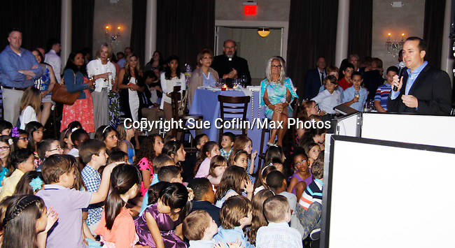 Nick Katsoris founder of The Loukoumi Make a Difference Foundation  - A Celebration 10 years in the Making - Dance Party and Make a Difference Awards on June 17, 2015 at Lake Isle Country Club, Eastchester, New York. Founded by Nick Katsoris with guest stars Bold and The Beautiful Constantine Maroulis, Search for Tomorrow Olympia Dukakis and Fox 5 Nick Gregory. (Photos by Sue Coflin/Max Photos)