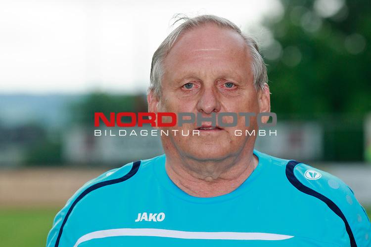 Teampraesentation F91 Duedelingen (F91 Dudelange / D&uuml;delingen) / Stade Jos Nosbaum, Duedelingen / / Fussball, Luxemburg, BGL Ligue, Saison 2014-2015 / 08.07.2014 /<br />   <br />  <br /> im Bild Marco Rausch (Betreuer)<br /> Portrait<br /> Foto &copy; nordphoto / Majerus
