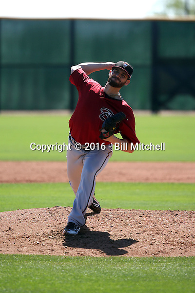 Luke Irvine - Arizona Diamondbacks 2016 spring training (Bill Mitchell)