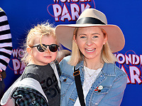 """LOS ANGELES, CA. March 10, 2019: Beverley Mitchell & Kenzie Cameron at the premiere of """"Wonder Park"""" at the Regency Village Theatre.<br /> Picture: Paul Smith/Featureflash"""