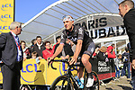 Ian Stannard (ENG) Team Sky at sign on for the 115th edition of the Paris-Roubaix 2017 race running 257km Compiegne to Roubaix, France. 9th April 2017.<br /> Picture: Eoin Clarke | Cyclefile<br /> <br /> <br /> All photos usage must carry mandatory copyright credit (&copy; Cyclefile | Eoin Clarke)