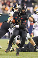 Philadelphia, PA - December 8, 2018:   Army Black Knights quarterback Kelvin Hopkins Jr. (8) in action during the 119th game between Army vs Navy at Lincoln Financial Field in Philadelphia, PA. (Photo by Elliott Brown/Media Images International)