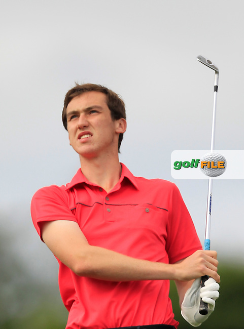 Colin Woodroofe (Blainroe) on the 10th tee during Day 2 of the Irish Youths Amateur Close Championship at Claremorris Golf Club on Thursday 29th August 2013 <br /> Picture:  Thos Caffrey/ www.golffile.ie