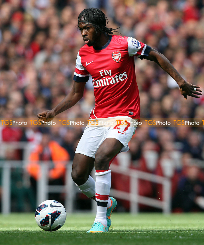 Gervinho of Arsenal - Arsenal vs Chelsea - Barclays Premier League at the Emirates Stadium, Arsenal 29/09/12 - MANDATORY CREDIT: Rob Newell/TGSPHOTO - Self billing applies where appropriate - 0845 094 6026 - contact@tgsphoto.co.uk - NO UNPAID USE.