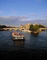 Frankreich, Paris: die Seine, Ile de la Cite und Ponte Neuf | France, Paris: Ile de la Cite, river Seine and Ponte Neuf