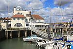 Royal Norfolk and Suffolk Yacht Club, Lowestoft, Suffolk, England, UK