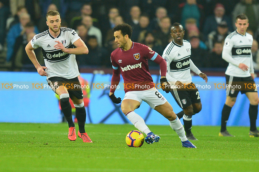 Felipe Anderson during West Ham United vs Fulham, Premier League Football at The London Stadium on 22nd February 2019