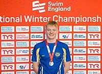 Picture by Allan McKenzie/SWpix.com - 13/12/2017 - Swimming - Swim England Winter Championships - Ponds Forge International Sport Centre - Sheffield, England - Will Morris.