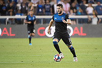 SAN JOSE, CA - AUGUST 25: Vako Qazaishvili #11 of the San Jose Earthquakes during a game between Vancouver Whitecaps FC and San Jose Earthquakes at Avaya Stadium on August 24, 2019 in San Jose, California.