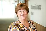 Lynne Holliman, BSN, RN, CCRN, Clinical Nurse III, Internal Staffing Resource Pool, Duke University Health System. Photographed at Duke Medicine Pavilion's Neurosciences.