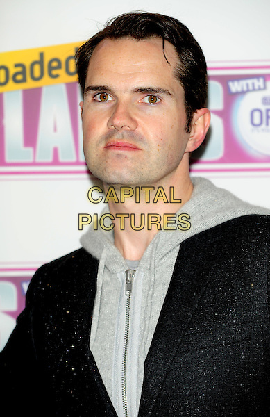 JIMMY CARR.Attending the Loaded LAFTA's Comedy Awards at the Cuckoo Club, London, England, January 27th 2010..LAFTAs arrivals portrait headshot grey gray hoodie black jacket .CAP/CJ.©Chris Joseph/Capital Pictures.