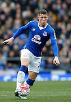 Ross Barkley of Everton during the Barclays Premier League match at The Goodison Park Stadium. Photo credit should read: Simon Bellis/Sportimage