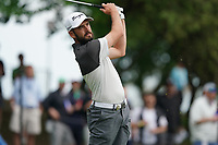 Troy Merritt (USA) on the 17th tee during the 2nd round at the PGA Championship 2019, Beth Page Black, New York, USA. 18/05/2019.<br /> Picture Fran Caffrey / Golffile.ie<br /> <br /> All photo usage must carry mandatory copyright credit (&copy; Golffile | Fran Caffrey)