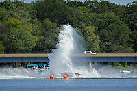 Frame 7: Dan Orchard, (#97) spins and rolls over in the East Turn. (SST-120 class)