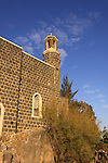 Israel, Sea of Galilee, the Church of St Peter's Primacy was built by the Franciscans in 1934 on the foundations of a Byzantine church housing the Mensa Christi rock