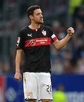FUSSBALL   1. BUNDESLIGA   SAISON 2013/2014   9. SPIELTAG Hamburger SV - VfB Stuttgart                               20.10.2013 Christian Gentner (VfB Stuttgart)