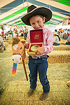 Winnemucca's Tri County Fair, Labor Day weekend..Stick horse racing--Briana Sherburn, Dummy Roping Champ