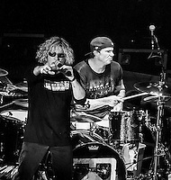 Chickenfoot in concert at The Orpheum in Boston May 16, 2012. © Rocco Coviello/MediaPunch Inc.