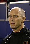 2 October 2004: MetroStars head coach Bob Bradley. DC United defeated the MetroStars 1-0 at Giants Stadium in East Rutherford, NJ during a regular season Major League Soccer game..