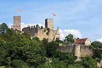 Germany, Baden-Wuerttemberg, Markgraefler Land, Loerrach, castle ruin Roetteln