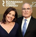 Tamara Haimes and Todd Haimes attends the Roundabout Theatre Company's 2019 Gala honoring John Lithgow at the Ziegfeld Ballroom on February 25, 2019 in New York City.