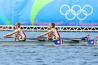 Rio 2016 Remo Doble Ligero - Melita Abraham y Josefa Vila