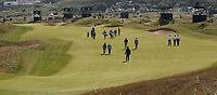 Back view of the 8th fairway during a practice round ahead of the 148th Open Championship, Royal Portrush Golf Club, Portrush, Antrim, Northern Ireland. 16/07/2019.<br /> Picture David Lloyd / Golffile.ie<br /> <br /> All photo usage must carry mandatory copyright credit (© Golffile | David Lloyd)