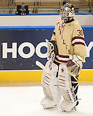 Chris Venti (BC - 30) - The Boston College Eagles defeated the Air Force Academy Falcons 2-0 in their NCAA Northeast Regional semi-final matchup on Saturday, March 24, 2012, at the DCU Center in Worcester, Massachusetts.