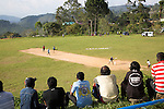 People watching cricket match, Haputale, Badulla District, Uva Province, Sri Lanka, Asia