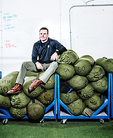 Rob Shaul at the Mountain Tactical Institute in Jackson, Wyoming, Wednesday, December 6, 2017. Shaul, coming from a military background, teaches workout classes based on real life performance ability training.<br /> <br /> Photo by Matt Nager