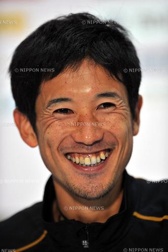 Arata Fujiwara (JPN), .FEBRUARY 26, 2012 - Marathon : Tokyo Marathon 2012 in Tokyo, Japan. (Photo by Jun Tsukida/AFLO SPORT)[0003]