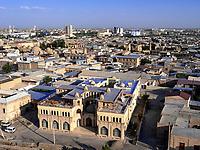 Blick vom Kalon Minarett, Buchara, Usbekistan, Asien, UNESCO-Weltkulturerbe